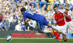 Eden Hazard, shortly after being grievously assaulted. Probably.